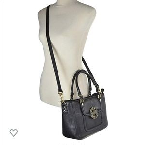 Tory Burch Amanda mini satchel crossbody black